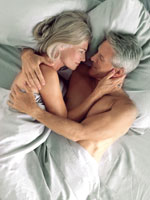 Senior couple sex