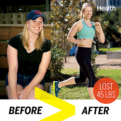 How One Woman Lost 45 Pounds - Health